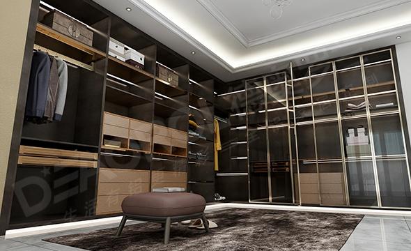全铝衣柜D6-001