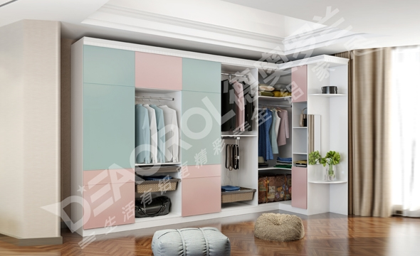 全铝衣柜家具定做