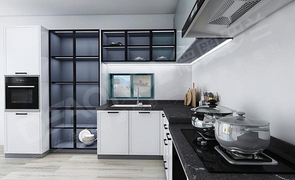 现代风格全铝橱柜